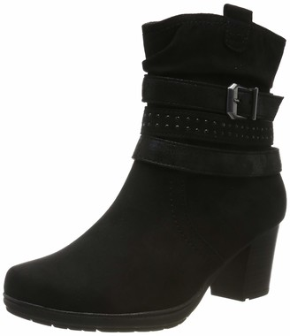 Jana Women's 8-8-25372-23 Ankle Boots (Black 001) 7.5 UK (41 EU)