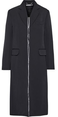 Stella McCartney Distressed Wool-twill Coat