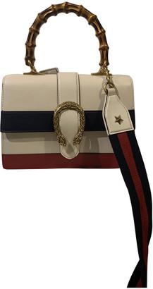 Gucci Dionysus White Leather Handbags