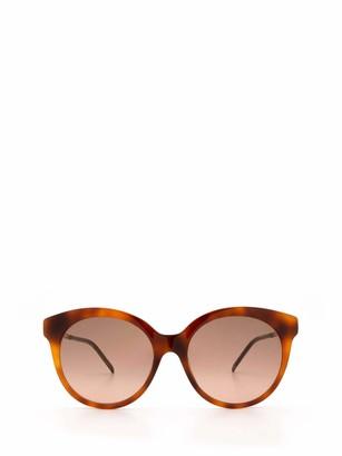 Gucci Round Frame Cat Eye Sunglasses