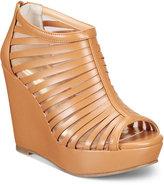 Thalia Sodi Millo Wide-Width Wedge Sandals, Created for Macy's