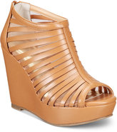 Thalia Sodi Millo Wide-Width Wedge Sandals, Only at Macy's