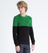 Surface to Air Green/Black Fluo Jumper