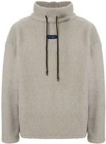 Off Duty Hamm oversized faux-shearling sweatshirt