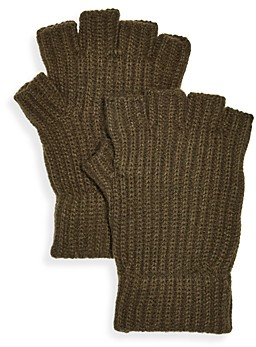 The Men's Store at Bloomingdale's Ribbed Fingerless Gloves - 100% Exclusive