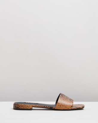 Senso Women's Brown Flat Sandals - Kym II - Size One Size, 36 at The Iconic