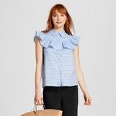 Who What Wear Women's Sleeveless Pioneer Shirt