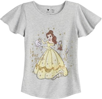 Disneyjumping Beans Disney Character Toddler Girl Flutter Sleeve Tee by Jumping Beans