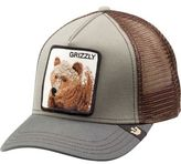 Goorin Brothers Animal Farm Trucker Hat - Wild Collection Grizz/Olive One Size