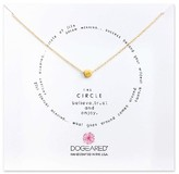 Dogeared Women's Circle Pendant Necklace