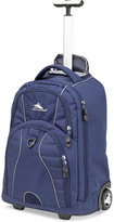 High Sierra Freewheel Rolling Backpack in True Navy