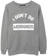 South Parade Boyfriend Sweatshirt Mornings