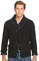Polo Ralph Lauren Wool-Cashmere Shawl Cardigan