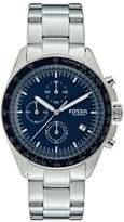 Fossil Sport 54 Chronograph Watch Silvercoloured