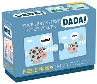 Mudpuppy x Jimmy Fallon Puzzle Pairs Your Baby's First Word Will Be Dada