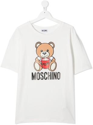 MOSCHINO BAMBINO Signature Teddy T-Shirt