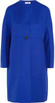Jil Sander Cashmere Coat - Bright blue