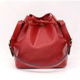 Louis Vuitton excellent (EX Petit Noe Red Epi Leather Shoulder Bag