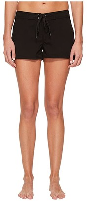 O'Neill Salt Water 3 Boardshort (Black) Women's Swimwear