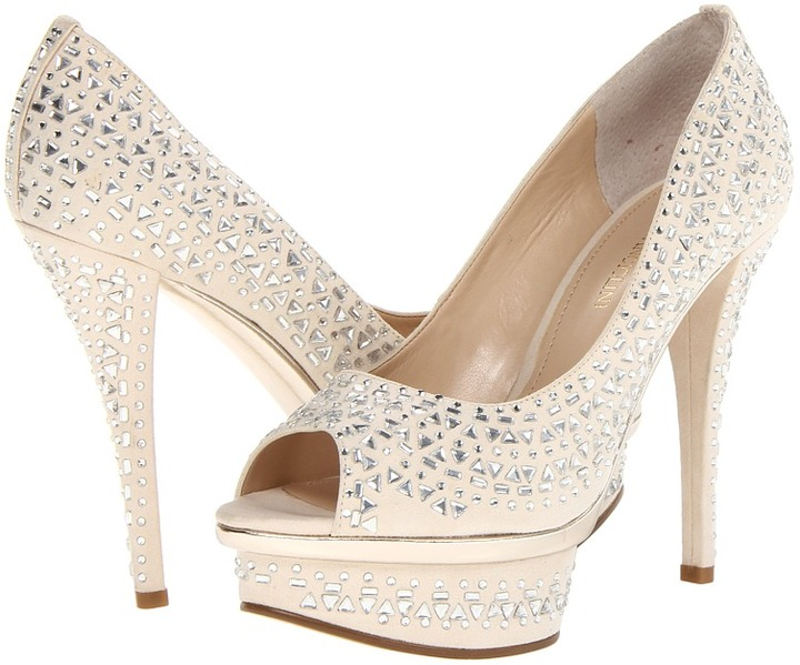 Enzo Angiolini Lost Love (Light Natural Fabric) - Footwear
