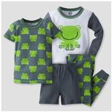 Gerber Toddler Boys' 4-Piece Frog PJ Set - Green