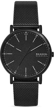 Skagen Signatur Mesh Bracelet Watch, 40mm
