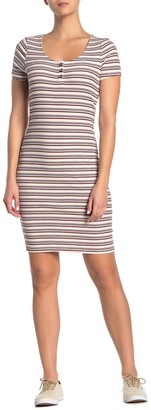 Cotton On Gabby Short Sleeve Sheath Dress