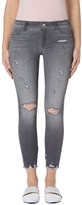 J Brand Low-Rise Cropped Skinny Jean In Provocateur Destruct
