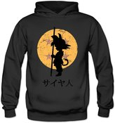 Louisrue Hoodie Women's Looking For The Dragon Balls Hoodie L