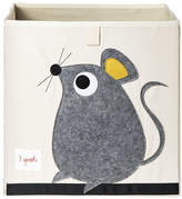3 Sprouts Mouse Fabric Storage Cube