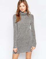 B.young High Neck Sweater Dress