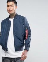 Slim Fit Bomber Jacket Men - ShopStyle