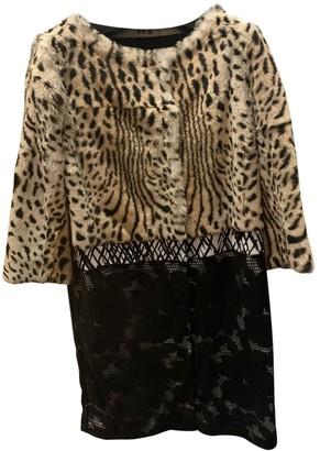 Giambattista Valli Multicolour Fur Coat for Women