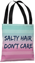 Salty Hair, Don't Care Tote Bag
