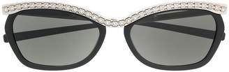 Gucci crystal embellished sunglasses