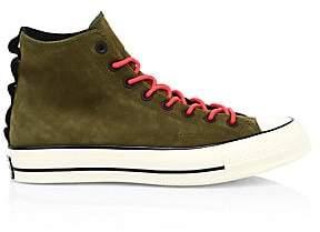 Converse Men's Chuck 70 High-Top Suede Sneakers