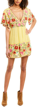 Raga Blooming Lotus Mini Dress