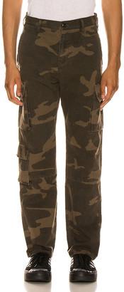 John Elliott Utility Cargo Pants in Black Camo   FWRD