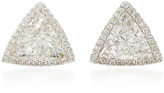 Martin Katz Trillion Diamond Toby Stud Earrings