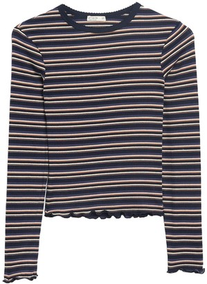 Cotton On The Sister Striped Long Sleeve Top