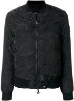 Eleventy camouflage bomber jacket