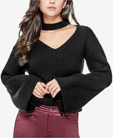 GUESS Adele Bell-Sleeve Cutout Sweater