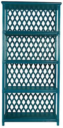 David Francis Furniture Casablanca Etagere - Pacific Blue