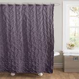 Lush Decor Lake Como Fabric Shower Curtain