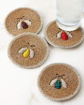Joanna Buchanan Sparkle Bee Coasters, Set of 4