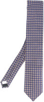 Lardini checked tie - men - Silk - One Size