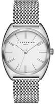 Liebeskind Berlin Women's Quartz Watch with Silver Mesh Analogue Quartz Stainless Steel LT 0031/MQ
