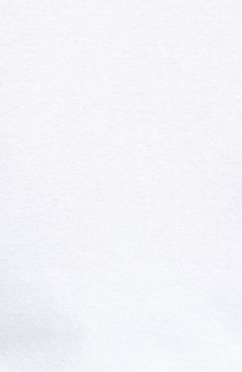 Caslon 'Melody' Fine Ribbed Cotton Tee (Regular & Petite)
