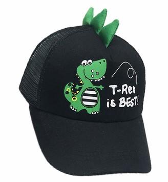 OKWIN Infant Toddler Trucker Hat Boy Girl Beach Sun Hat Dinosaur Baseball Cap Black