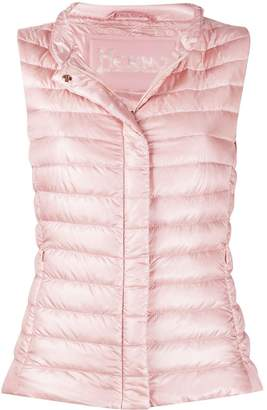Herno fitted padded gilet